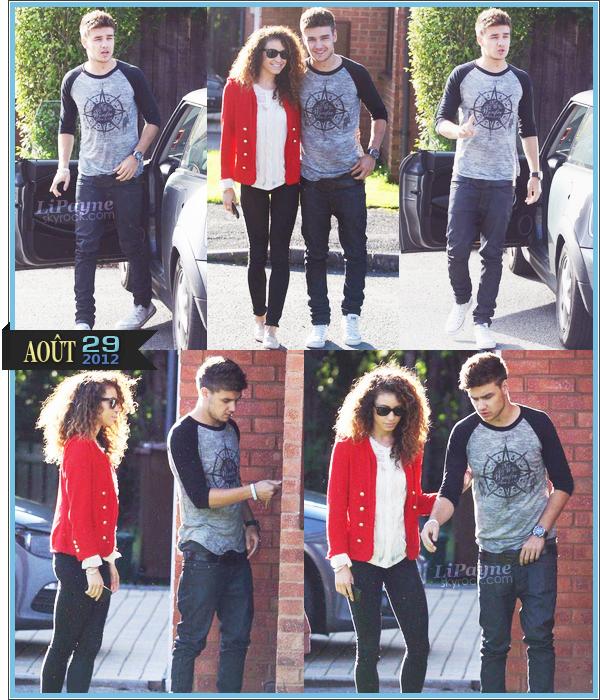 . _29/08_~_Liam et Danielle ont été vus Mercredi dans Wolverhampton, UK._ .