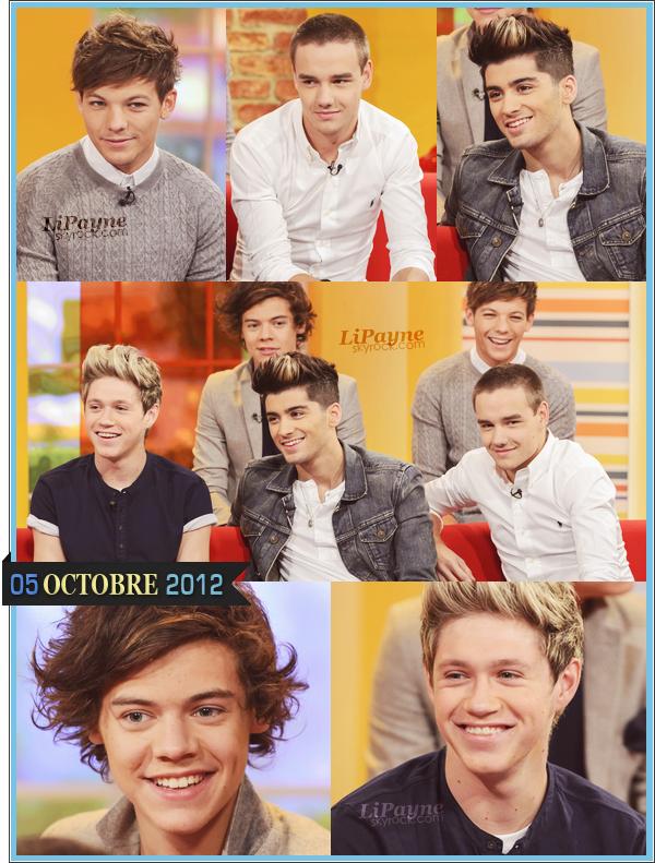 . _01/10_~_Les garçons plus beaux que jamais étaient à l'extérieur des studios iTV, aujourd'hui._ .