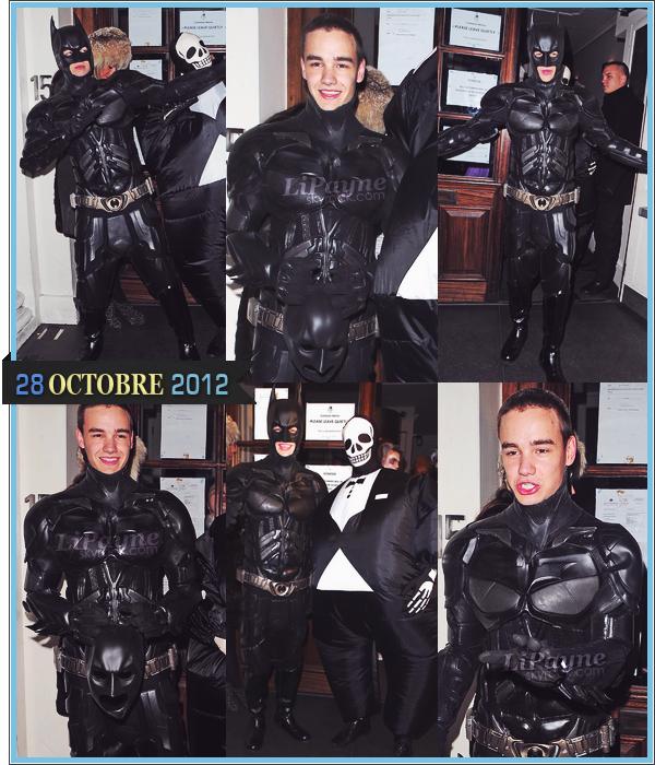 . _28/10_~_Liam était avec Tom Daley au Funky Buddha Club pour une soirée Halloween._ .