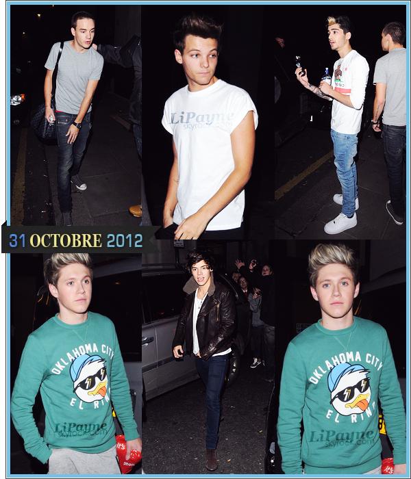 . _31/10_~_Les garçons étaient à une conférence de presse à Madrid, aujourd'hui._ .