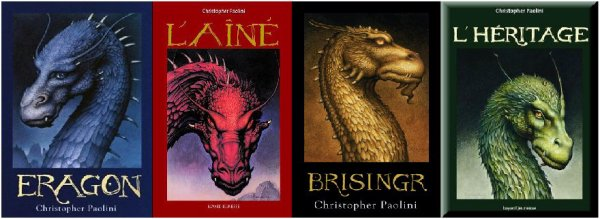 Christopher Paolini - Saga L'Héritage ( 4 livres / 4 )