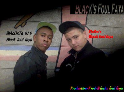 BlAcOsTe  Ft FloOw's Money Black Foul faya