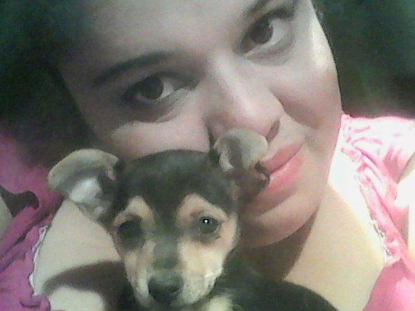 Moi et ma chienne kafrine