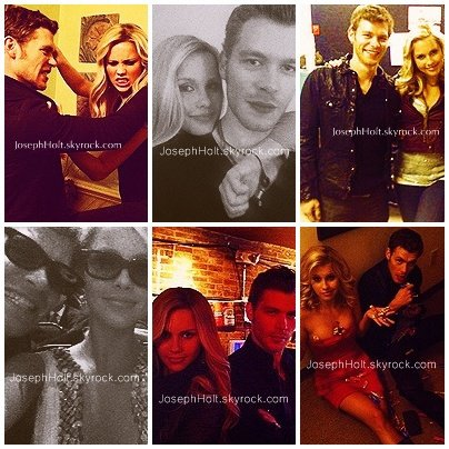 ____» Les rumeurs sur une éventuelle relation amoureuse entre Joseph Morgan et Claire Holt.  Joseph Morgan a quitté son ex copine, Emily VanCamp, en début d'année, mais il se pourrait bien qu'il s'en remette rapidement de cette rupture. En effet, Joseph Morgan c'est rapproché de Claire Holt, sa co-star dans la célèbre série The Vampire Diaries. Depuis quelque temps, les deux acteurs sont souvent ensemble, comme le montre ses photos personnelles, poster sur leurs Twitters. L'histoire n'a pas été niée ni confirmée par les acteurs ou leurs proches. Affaire à suivre.   Créditer si vous prenez.