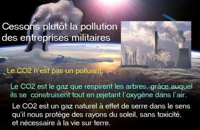 CO2, RÉCHAUFFEMENT CLIMATIQUE, MANIPULATION CLIMATIQUE et PLUIE ARTIFICIELLE