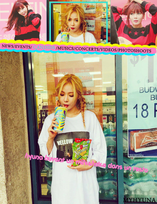 Hyuna for CLRIDE.n