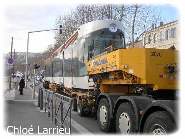L'arrivée du tramway à Marseille en passant par: l'Estaque !