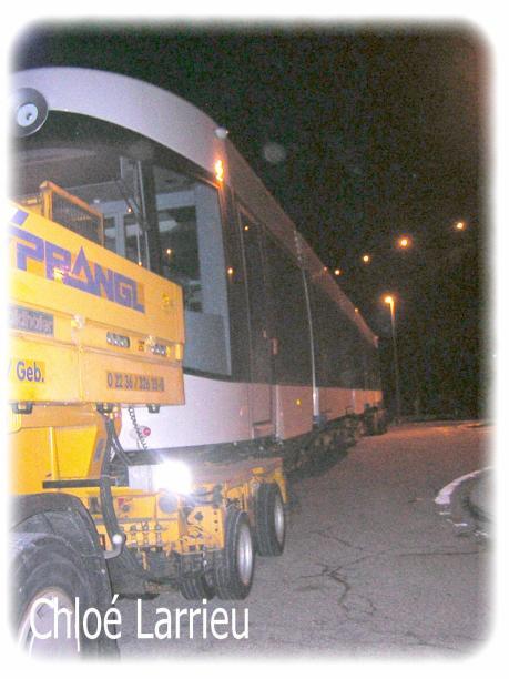 Le tramway à Mourepiane