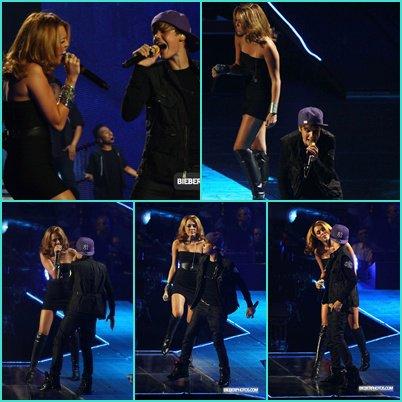 Justin Bieber et Miley Cyrus (♥)