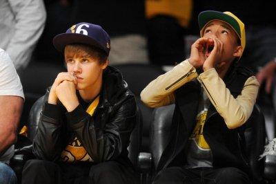 Justin & Jaden à Los Angeles
