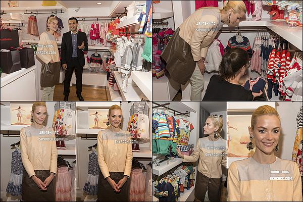 16/04/14 : Notre blondinette s'est rendue à l'ouverture du magasin  «The Catimini» dans Beverly Hills, Calif.