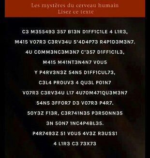 A lire...