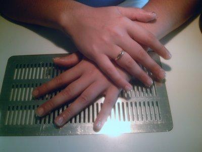 renforcement de l'ongle naturel