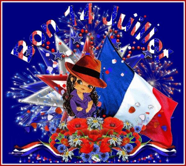 Très bon 14 Juillet aux Français(e)s !