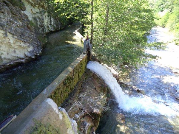 Le barrage de Nurier