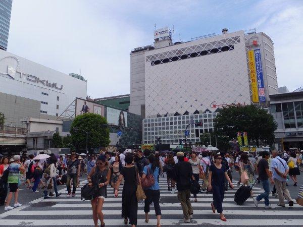 Shibuya/Harajuku avec Adélie