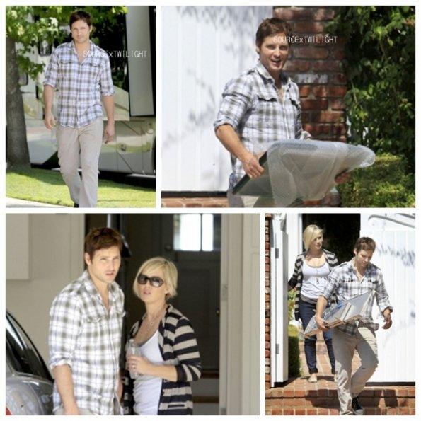 09 Septembre > Peter et sa femme à L.A.