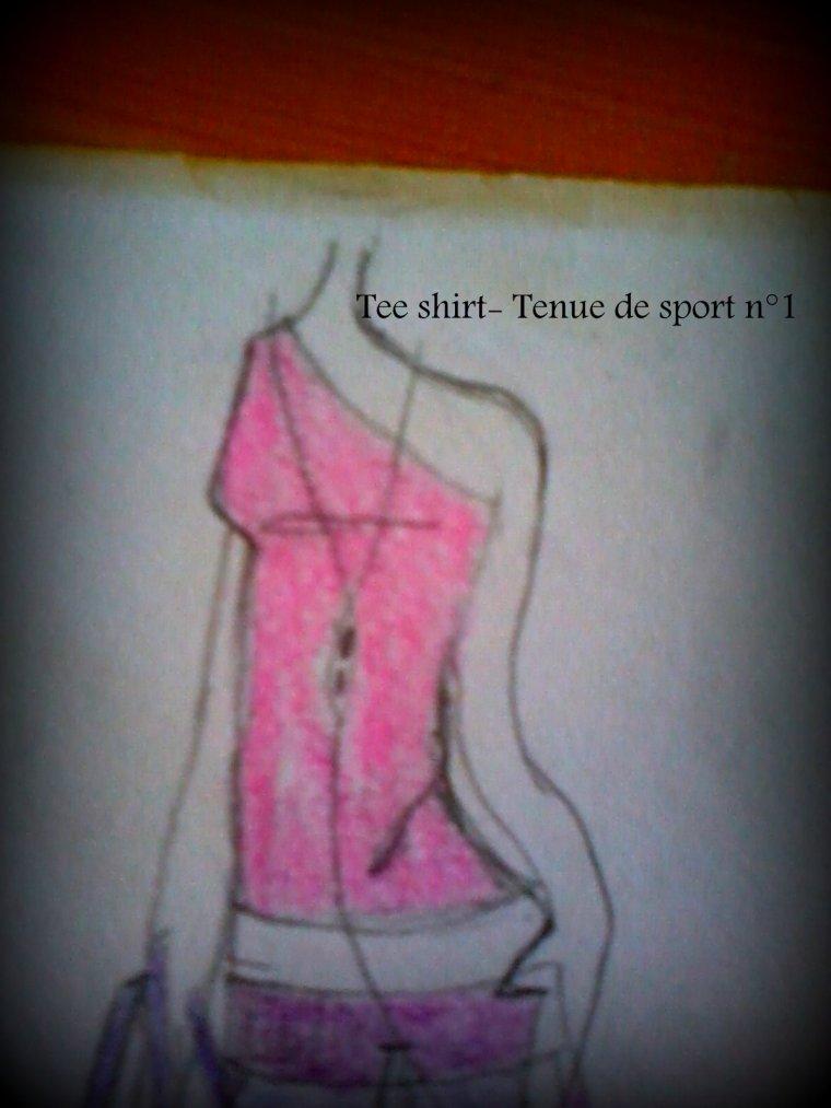 Art- Tenue de sport n°1