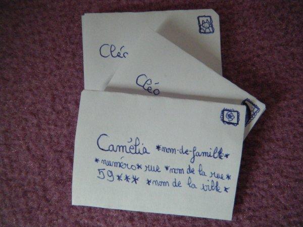 Cam lia re oit une lettre blog de pullip passion 59 - Camelia prenom ...