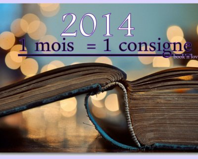 Challenge 2014 : 1 mois = 1 consigne