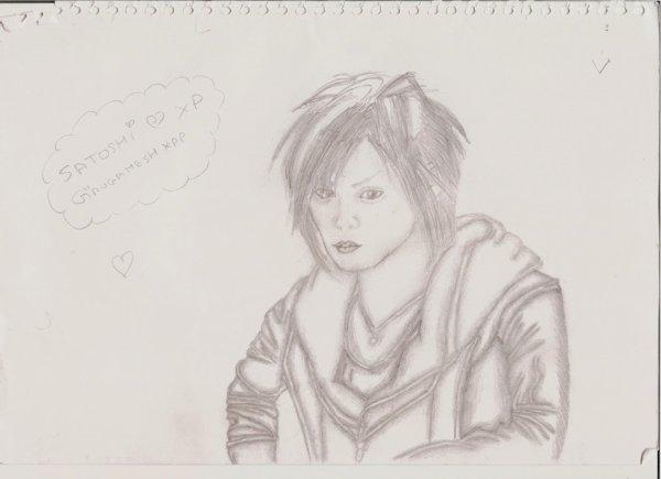 portrait de Satoshi , chanteur de Girugamesh.