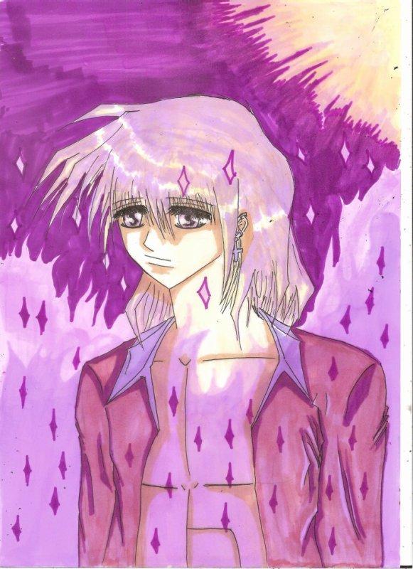 personnage manga style shojo