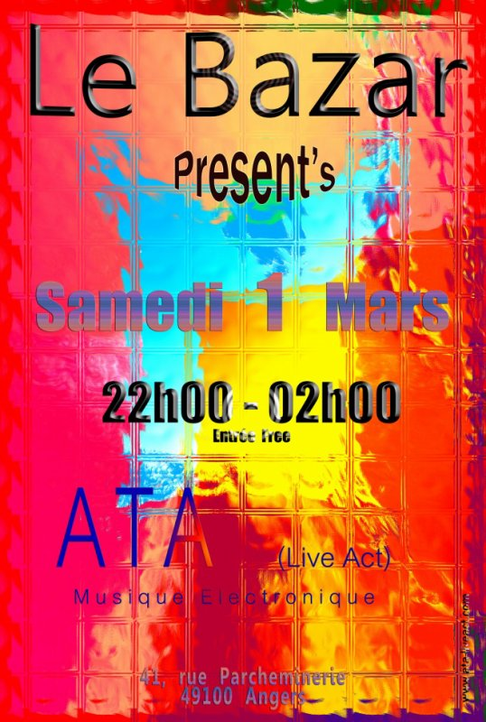 ATA. Live at Le Bazar