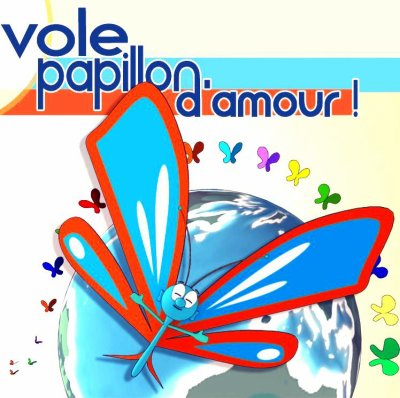 ~ VOLE PAPILLON D'AMOUR ~