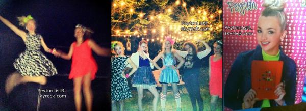 Voici les nouvelles photos Instamgarm et des fans de Peyton