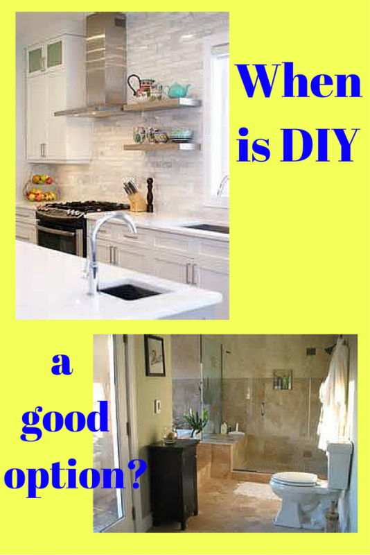 When is DIY a Good Option?