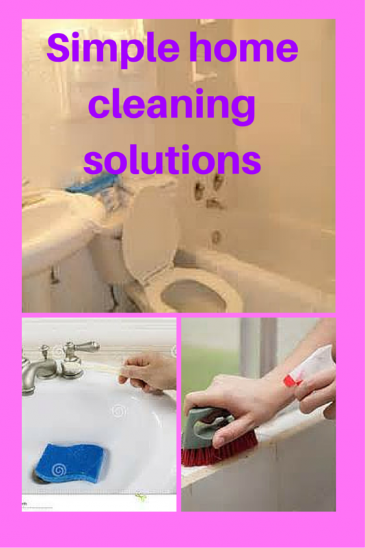 Simple Home Cleaning Solutions