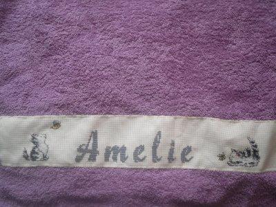 mes premières serviettes...qu'en pensez-vous?