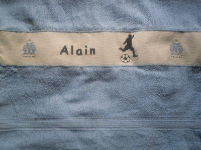 une nouvelle serviette pour mon beau-père cette fois...qu'en pensez-vous?