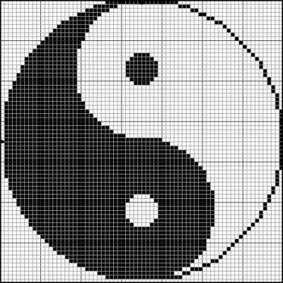 grille le yin et le yang, demandée par toutcequemelaime