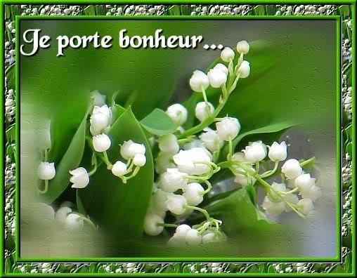 JE VOUS SOUHAITE A TOUTES ET TOUS MES AMIES (IS) UN BON WEEK END DU 1ER MAI.....GROS BISOUX.....
