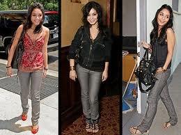 Vanessa en différentes tenues
