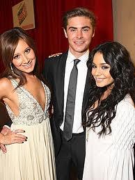 Zac,Vanessa,Ashley