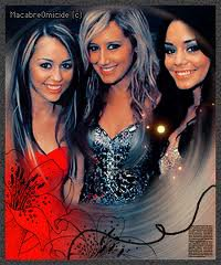 Vanessa, ashley,miley