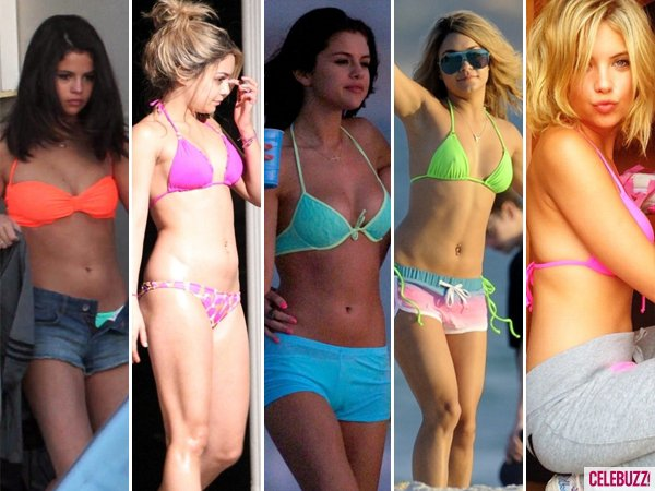 Selena Gomez, Vanessa Hudgens & Ashley Benson's Hottest 'Spring Breakers' Bikini Moments (PHOTOS)
