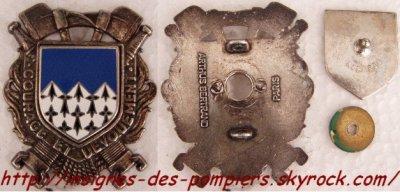 Insignes des pompiers des CÔTES D'ARMOR (22)
