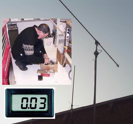 Modification télécommande de moteur d'antenne