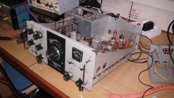 Le test des tubes de l'Heathkit hw 101