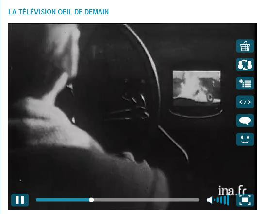 La télévision du futur imaginée en 1947