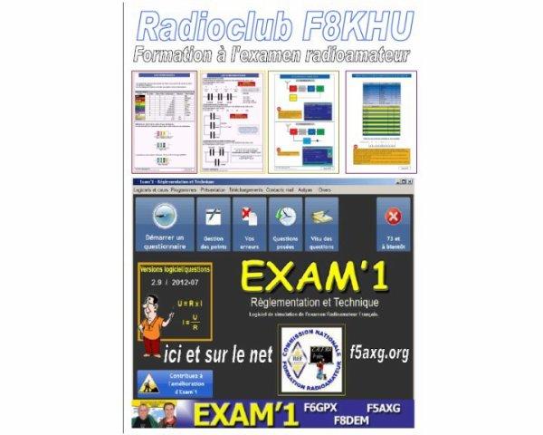 Préparation à l'examen radioamateur.