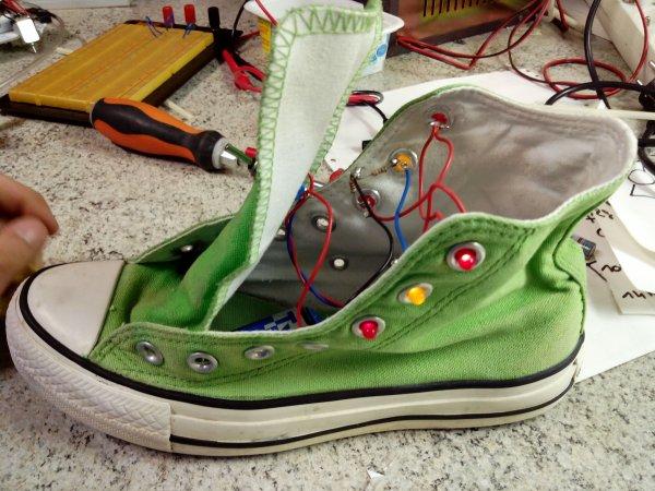 Chaussure lumineuse : la suite !