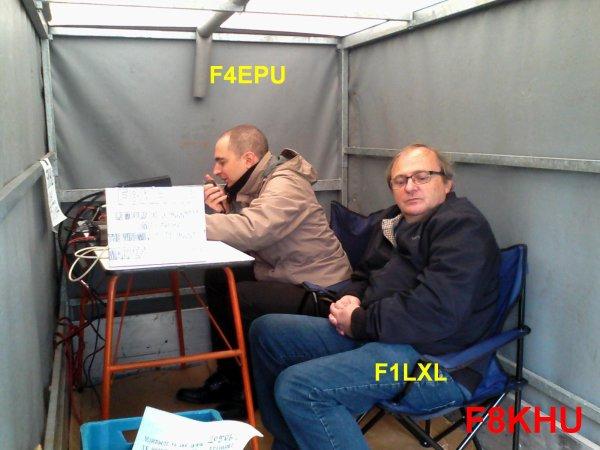 F8KHU/P : quelques photos.
