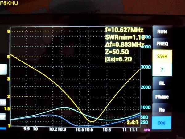 Analyseur d'antenne HF ARDUINO VNA de F4GOH.
