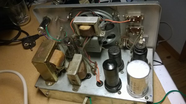 Restauration d'in signal tracer Heathkit par F4EOT