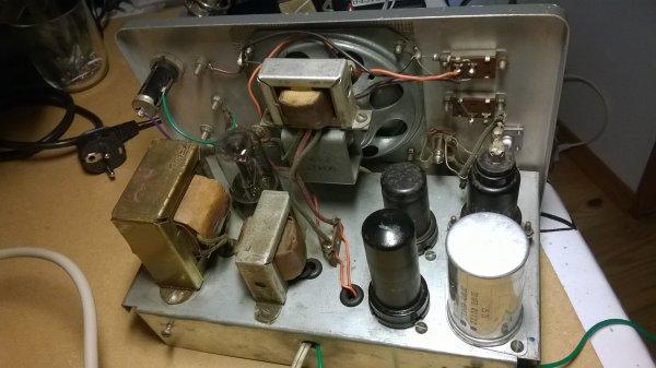 Restauration d'in signal tracer Heathkit par F4EOT