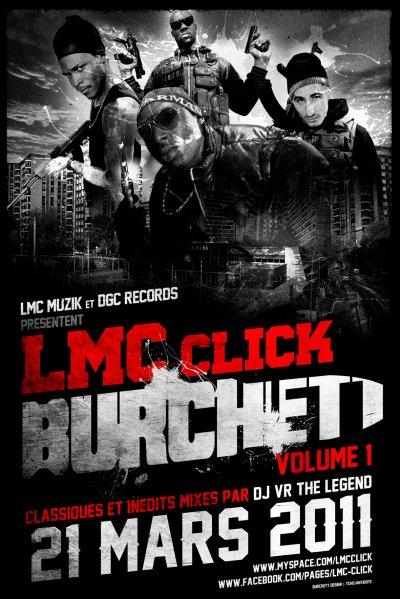 BURCHETT VOL.1 LE 21 MARS DANS LES BACS